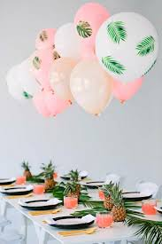 party themes tropical themed palm tree party pinteres