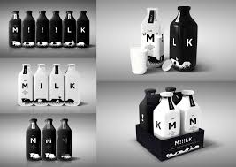 milk design milk company the package concept of premium milk design