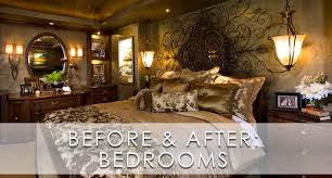 mediterranean home master bedroom before and after