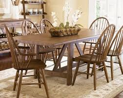 retro hillsdale glenmary piece round dining room set in oak