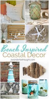 beach inspired coastal decor beach crafts and decorating