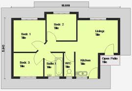 free houseplans free 3 bedroom house plans south africa nrtradiant