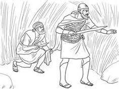 free bible images david spares king saul u0027s life i samuel 22 1 2