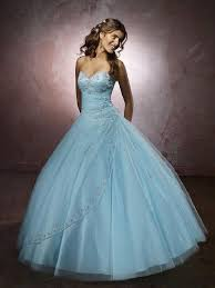 wedding dresses and blue bridal gowns sweetheart ball gown
