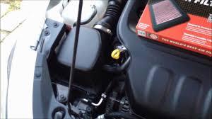 dodge dart change 2013 dodge dart 2 0l k n air filter installation