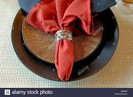 how to set a table with napkin rings elegant table setting with place mat cloth napkins and napkin ring