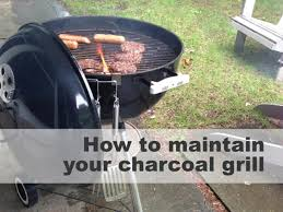 Patio Classic Charcoal Grill by Quick Tips For Cleaning Your Charcoal Grill Diy Network Blog
