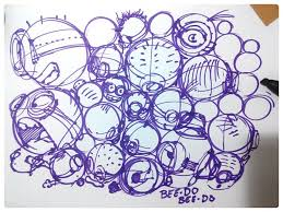 train your sketching skills having fun with the minions