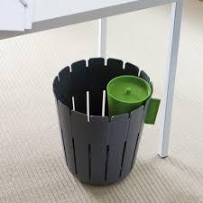 poubelles de bureau corbeille design de bureau grise konstantin slawinski absolument