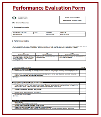 employee performance review templates free premium creative form