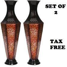 metal home décor vases ebay