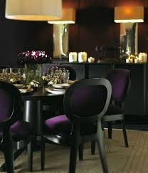 Beautiful Purple Dining Room Chairs Photos Amazing Design Ideas - Purple dining room