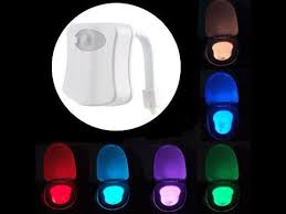 Motion Activated Night Light Motion Activated Led Toilet Nightlight 8 Colors Motion Sensor