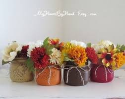 fall centerpieces thanksgiving jars fall jars fall centerpieces