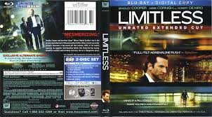 limitless 2011 r1 blu ray cover u0026 labels