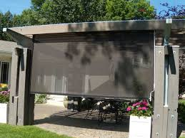 Retractable Awning With Screen Awnings By Haas Kansas City Awning Company Solar Shades