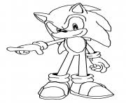 Sonic Coloring Pages Free Printable Free Sonic Coloring Pages