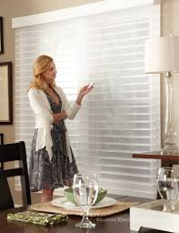 horizontal sheer blinds a hybrid of a sheer shade and venetian