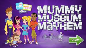 fresh beat band of spies mummy museum mayhem youtube