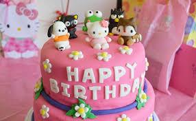 hello birthday cakes and friends birthday cake