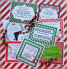 marci coombs 12 days of christmas printable tags other