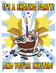 party invitations jumpin u0027 jupiter skate u0026 fun center
