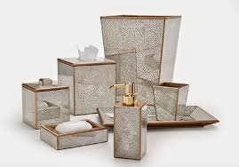 Fine Bathroom Accessories Sets Luxury Imperial Design Resin - Bathroom accessories designer