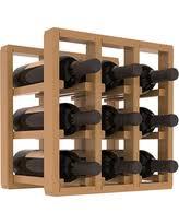 deal alert oak wine racks