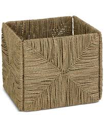 honey can do folding table honey can do folding seagrass basket cleaning organization