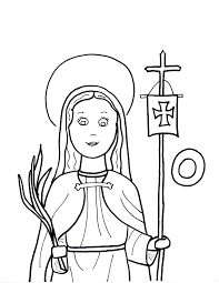 st brigid colouring pages kids coloring europe travel guides com