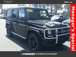 2015 used mercedes benz 4matic 4dr g 63 amg at mercedes benz of