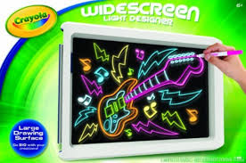 amazon com crayola widescreen light designer 74 7053 toys u0026 games
