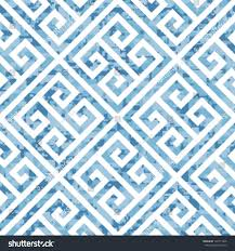 seamless water themed greek key background stock vector 128711945