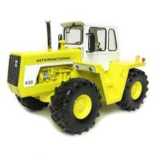16th international harvester 4100 resin 4wd cab industrial yellow