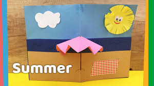 diy summer crafts cozy beach theme nice decoration for kids