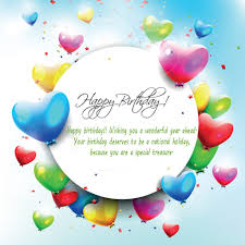 cheerful birthday greeting card design idea for beloved ones with