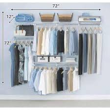 Organizer Rubbermaid Closet Pantry Shelving Wire Closet Organizers Closet Storage U0026 Organization The Home