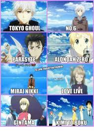 Mirai Nikki Memes - no6 tokyo ghoul alonudah zero fbcommfans0ftokyoghoul love live mirai