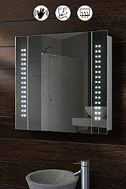 Bathroom Cabinet With Mirror My Furniture 60 Led Illuminated Bathroom Cabinet Mirror With