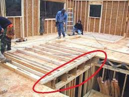 How Are The Floors Of A 3 Story House Normally Suspended Quora House Floor Joists Construction