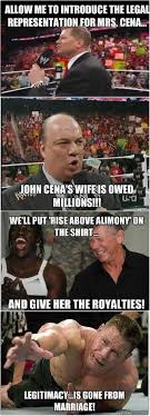 Funny John Cena Memes - john cena s divorce in pictures wwexstream com