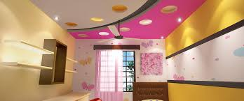 kids room false ceiling gypsum board drywall plaster