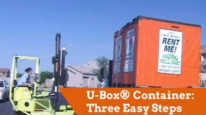 u box portable storage three easy steps youtube