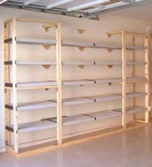 Heavy Duty Garage Shelving by Building Heavy Duty Garage Shelves Youtube Garage Plans For