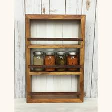 Made To Order Kitchen Cabinets Kitchen Shelves Spice Racks Spice Rack Kitchen Cabinet