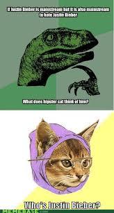 Hipster Cat Meme - its hipster kitty sharenator