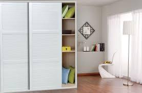 Sliding Closet Doors White Closet Awesome Small Walk In Closet Decoration Using Modern White