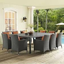 ten person patio dining sets you u0027ll love wayfair ca