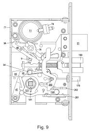 Baldwin Lock Parts Patente Us20100263418 Mortise Lock Assembly Google Patentes