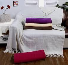 Sofa Throw Slipcovers by Batten Throw Cream Ivory 90